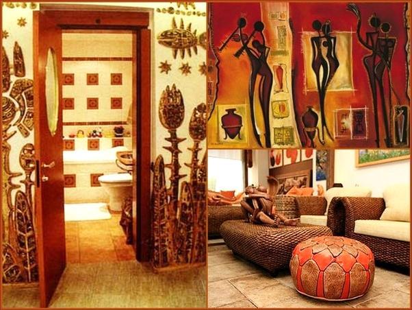 Африканский стиль интерьер