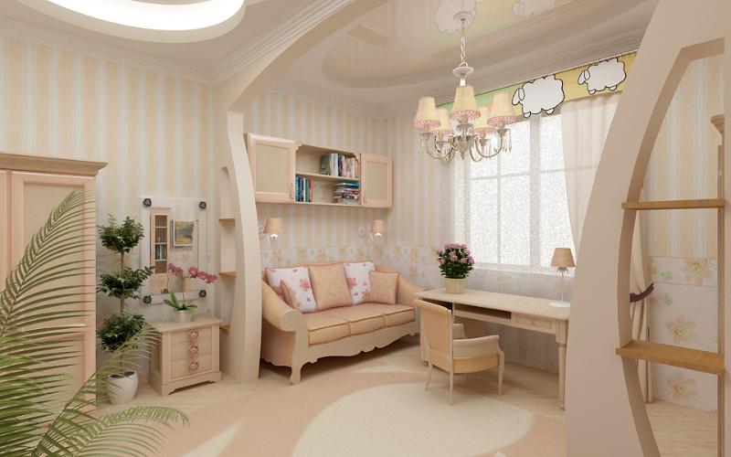 Оптимальное разделение пространства в доме либо квартире