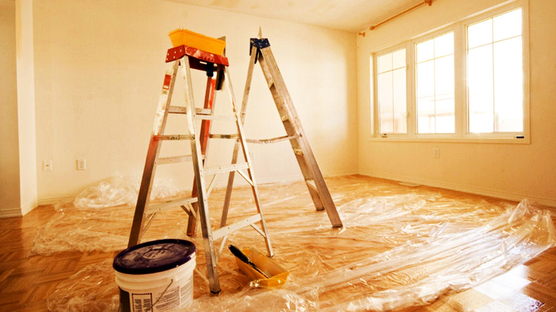 Начало ремонта в частном доме