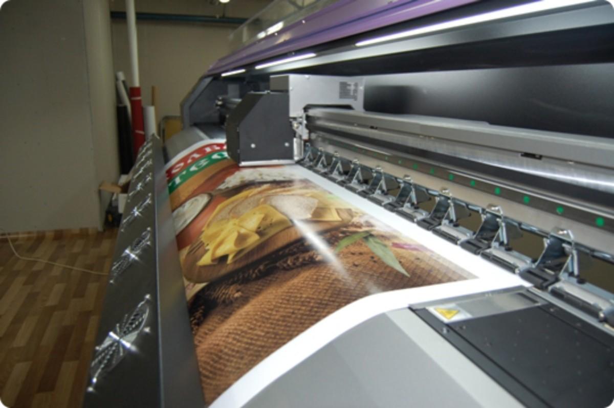 Широкоформатная печать и её виды