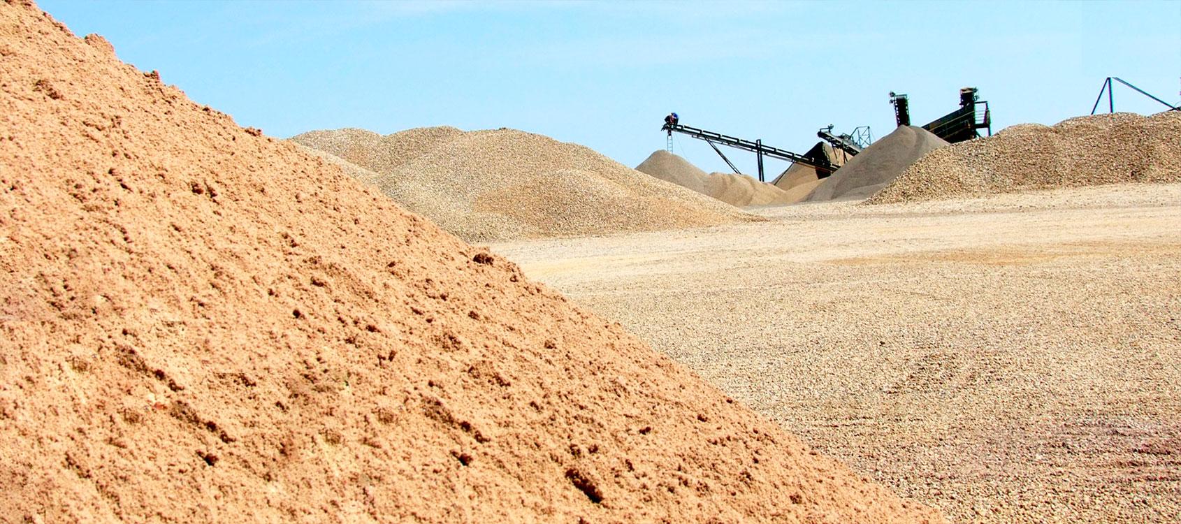 Песок - как основной строительный материал