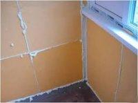 Утепление стен экструдированным пенополистиролом